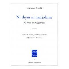 Ni thym ni majorlaine, Giovanni Orelli