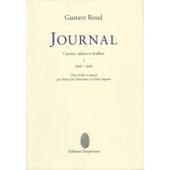 Journal, Gustave Roud